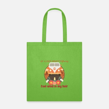 On A Dark Desert Highway Dark Desert Highway - Tote Bag