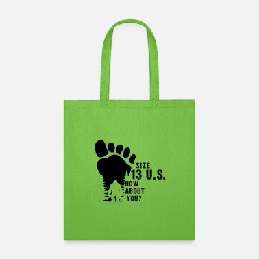 Yeti Yeti Footprint - Tote Bag