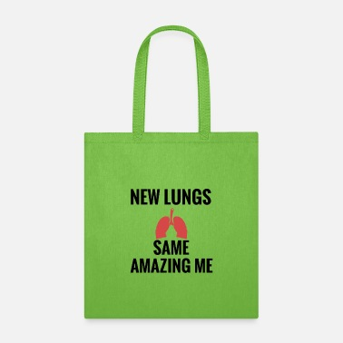 Recovery Lung Transplant Gifts | Lung Transplant Survivor - Tote Bag