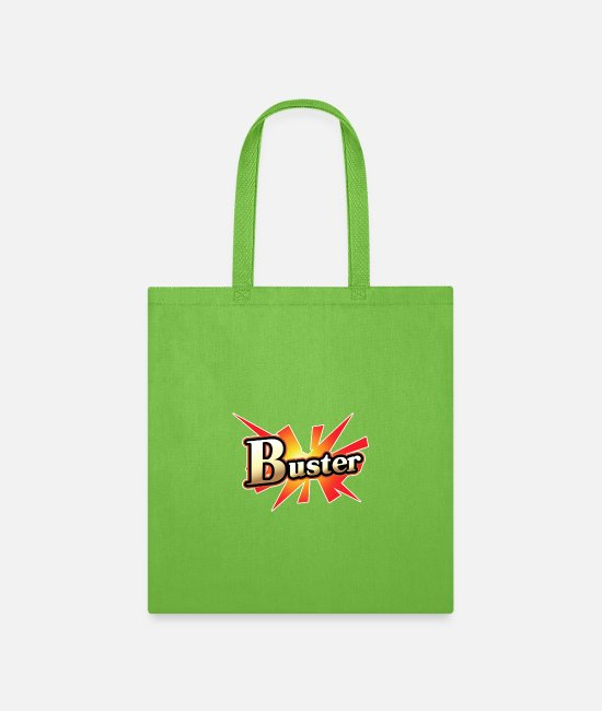 Fate Grand Bags & Backpacks - Buster Card - Tote Bag lime green
