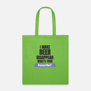 I Make Beer i make beer - Tote Bag