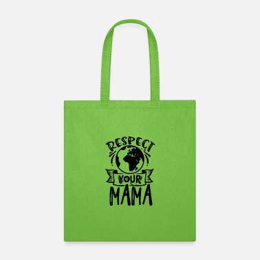 Yellow Respect your mama - Tote Bag