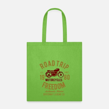 Freedom Of Expression road trip freedom speedway legend - Tote Bag