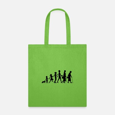 Evolution the evolution of women - Tote Bag