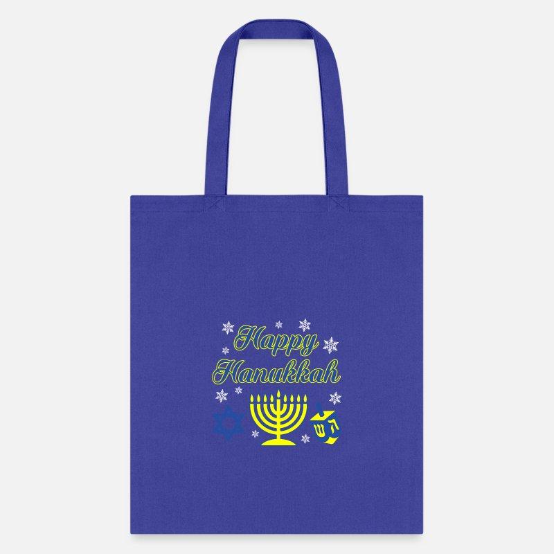 Jewish Star Of David Ugly Hanukkha Shopping Tote Bag