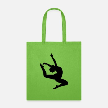 Jumping Girl Jumping dancing girl - Tote Bag