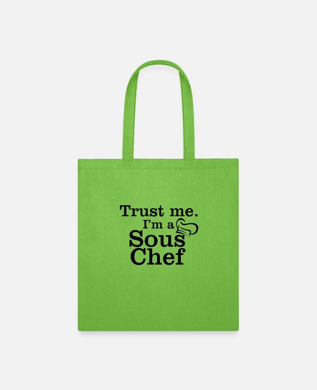 Candys Bags & Backpacks - Sous chef - Tote Bag lime green