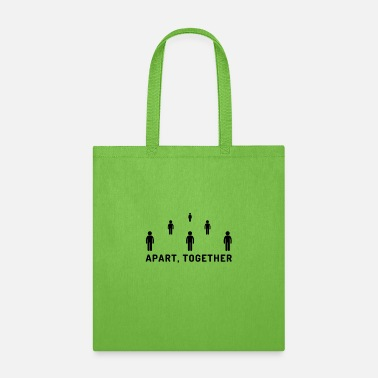 Together Apart, together - Tote Bag