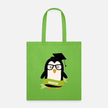 Baby Boy Penguin nerd from Austin Gift - Tote Bag
