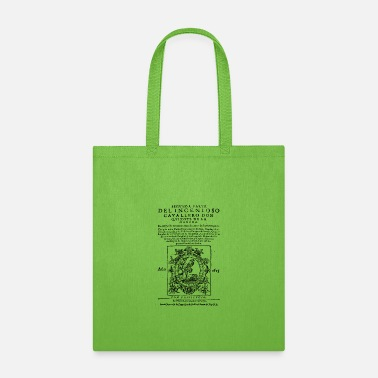 Don Quijote Don Quixote design: Miguel de Cervantes - Fine - Tote Bag