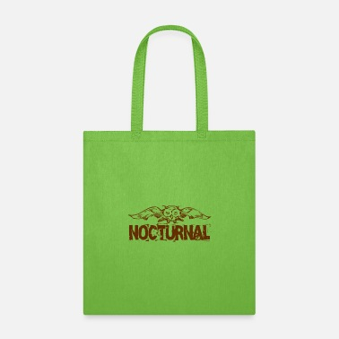 Nocturnal Nocturnal owl - Tote Bag