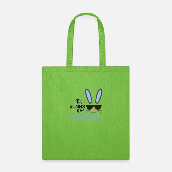Bunny Bags & Backpacks - The Bunny is my Homeboy! - Tote Bag lime green