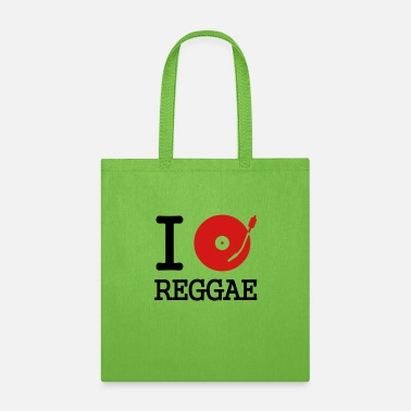 Record I dj / play / listen to reggae - Tote Bag