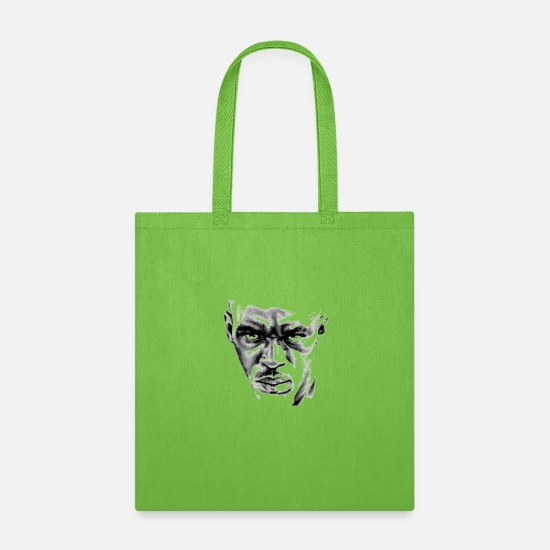 Black Bags & Backpacks - man - Tote Bag lime green