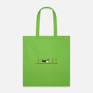 Border Collie Agility 1 - Tote Bag