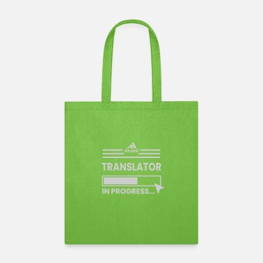 IN PROGRESS - TRANSLATOR - Tote Bag