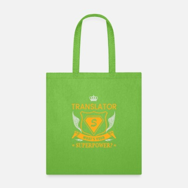 SUPER POWER - TRANSLATOR - Tote Bag