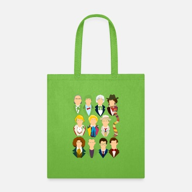 America The Eleven Doctors - Tote Bag