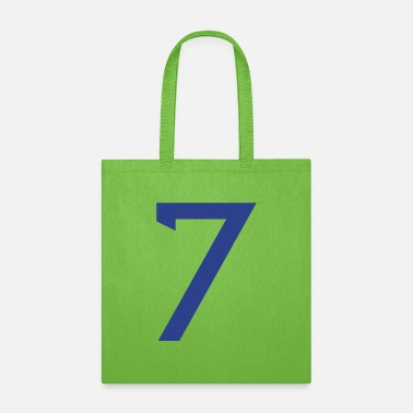 Football Team ★Cool Number Seven 7-Best Uniform Number-7★ - Tote Bag