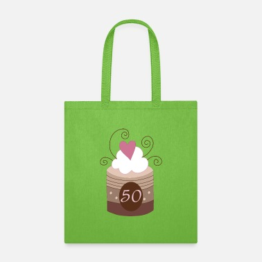 Birthday 50th Birthday or Anniversary - Tote Bag