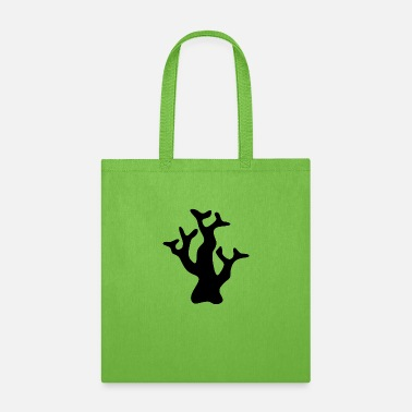 Reef Black coral reef - Tote Bag