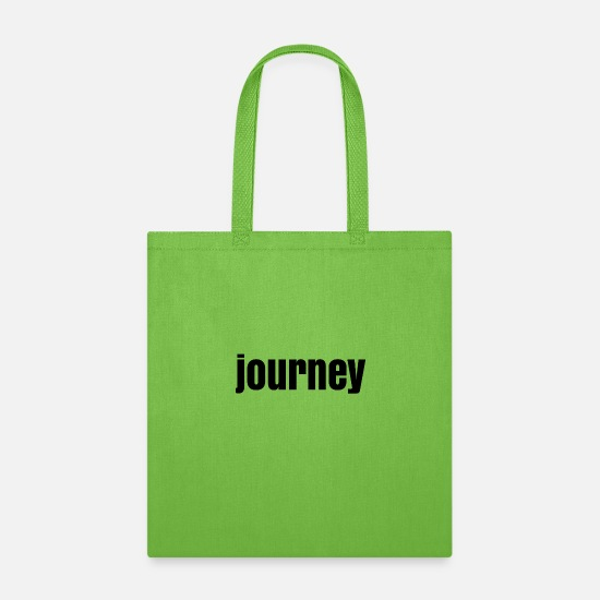 Road Construction Bags & Backpacks - journey - Tote Bag lime green