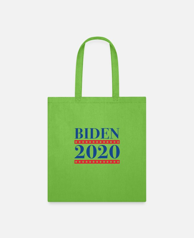 Joe Bags & Backpacks - Biden 2020 - Tote Bag lime green