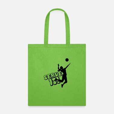 Serve Serve It! - Tote Bag