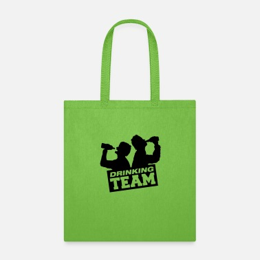 School Party drinking_team_q1 - Tote Bag