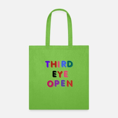 Cheeesed Off THIRD EYE OPEN , FUNNY EMOTIONAL - Tote Bag