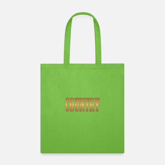 Guitar Bags & Backpacks - country copper - Tote Bag lime green
