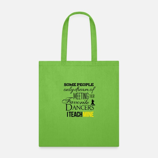Dancers Bags & Backpacks - Dancers - Tote Bag lime green
