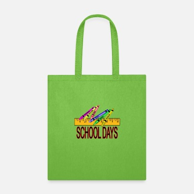 Custom School Days - Tote Bag