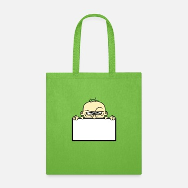 Shield shield name text text face evil hide wall funny - Tote Bag