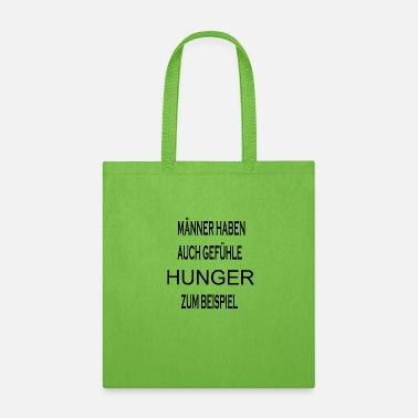 Hunger Maenner Hunger - Tote Bag