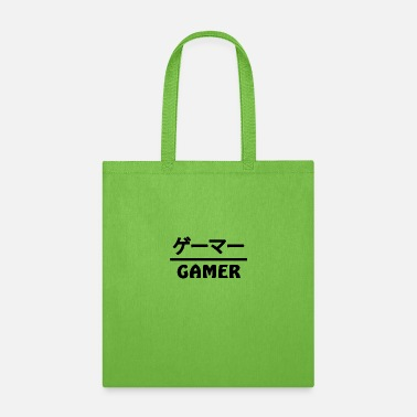 Anime Gamer Japan Kanji - Tote Bag