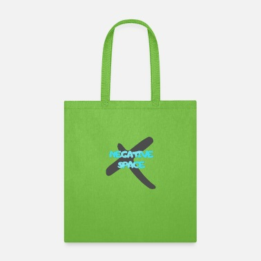 Space Negative X space - Tote Bag