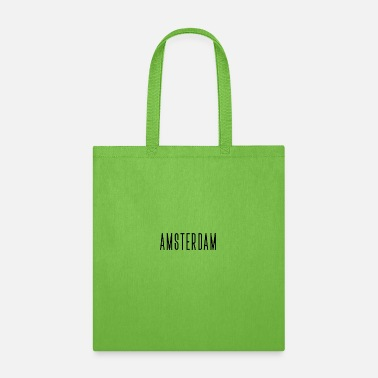 Frame Amsterdam streched letters - Tote Bag