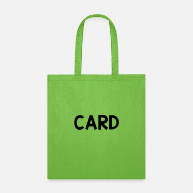 Cardiography Card only - Tote Bag