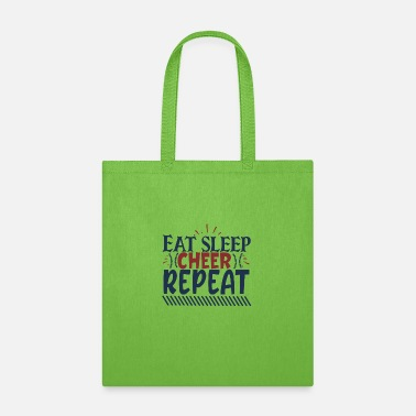Eat sleep cheer repeat - Tote Bag