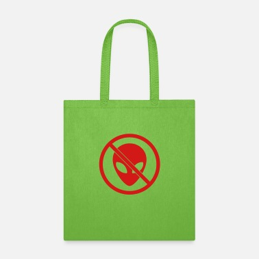 Prohibited Prohibited Sign Alien - Tote Bag