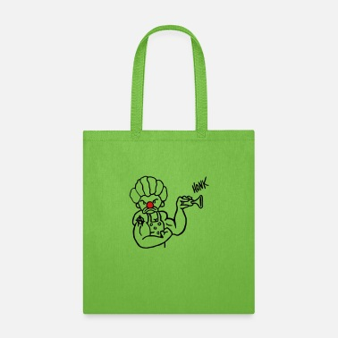 anarchyclown rednose - Tote Bag