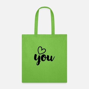 Love You LOVE YOU - Tote Bag