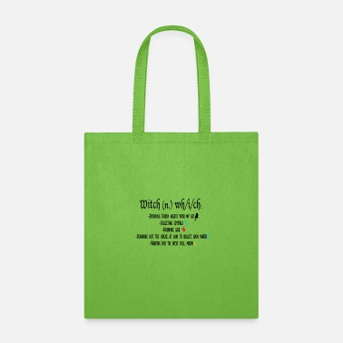 Witchcraft Witch Definition - Tote Bag