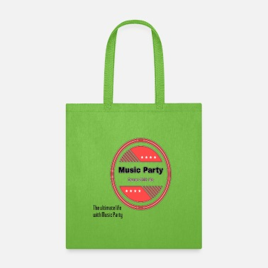music party design - Tote Bag