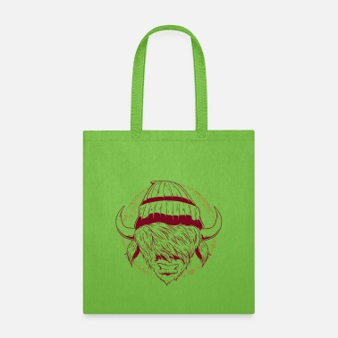 Swag Style Bull hipster with swag style - Tote Bag