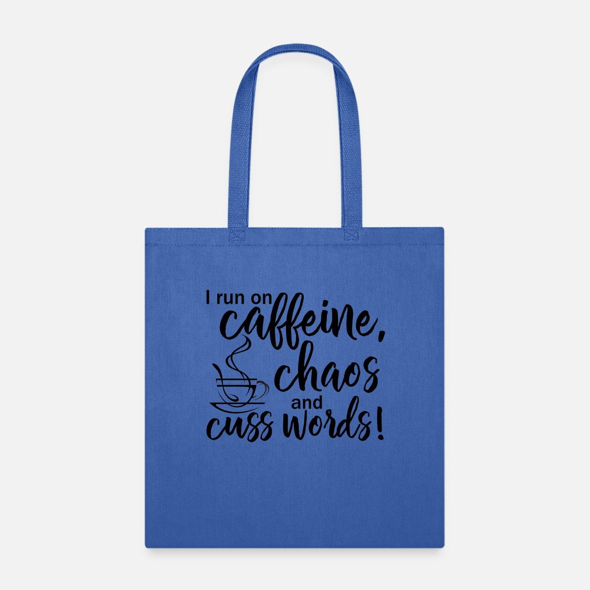 Mothers Day Gift Gift For Mum Caffeine Chaos /& Cuss Words Funny Shopper Bag Gift Gift for Mum