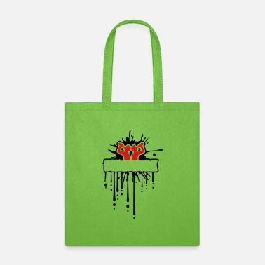 Logo Text field Empty area Name Writing Sign Graffiti A - Tote Bag