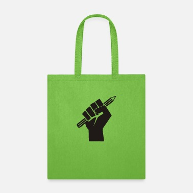 Power Press Pen Power Freedom Of Press Funny Tshirt - Tote Bag