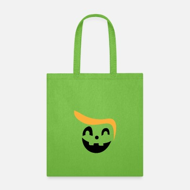 Halloweenparty Funny Halloween T-Shirt with Trump hairstyle - Tote Bag